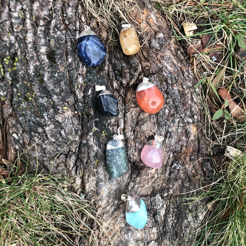 Gemstone Pendants  Wear Your Crystal Magic!