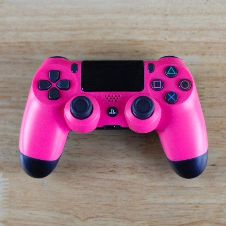 Pinkout DUAL SHOCK 4 PS4  PS3  PC Wireless Bluetooth Custom PlayStation Controller