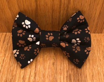 NEW! Candy Cane Dog Bow Tie Winter Dog Bow Tie Hot Chocolate Cat Bow Tie SALE! Hot Chocolate Dog Bow Tie Cocoa Dog Bow