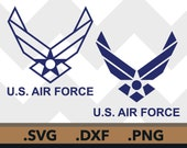 U.s. Air Force SVG Files, United States U.S. Air Force Cutting Files, U.S. Air Force DXF Cut Files, Us Air Force SVG Files, Instant Download
