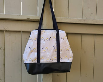 Tall size wire framed project bag