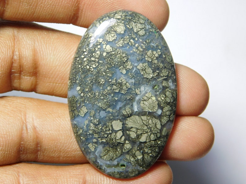 mm. Top quality marcasite Gemstone 100/% Natural marcasite cabochon loose stone very beautiful design cabochon 60Cts. 43X28