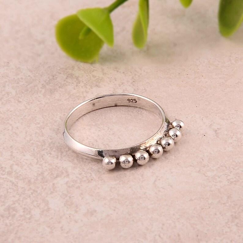 boho ring handmade ring plain ring Designer ring statement ring sterling ring 92.5/% sterling silver ring simple ring vintage ring