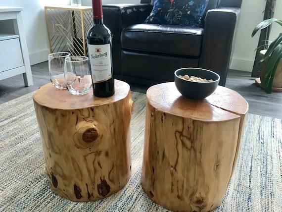 Tree Stump Table Douglas Fir Wood, Douglas Fir Furniture