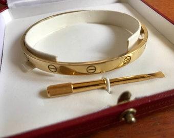 6f44f0e37f603 Cartier bracelet | Etsy