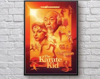 Tous les Valley Karaté Kid Film Inspiré chambre d/'enfant Encadré Imprimé Poster Wall Art