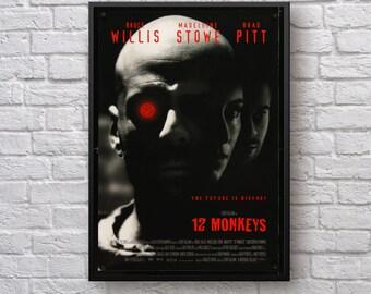 Twelve Monkeys Etsy