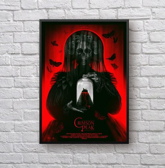 Crimson Peak Artwork Movie Poster Picture Etsy
