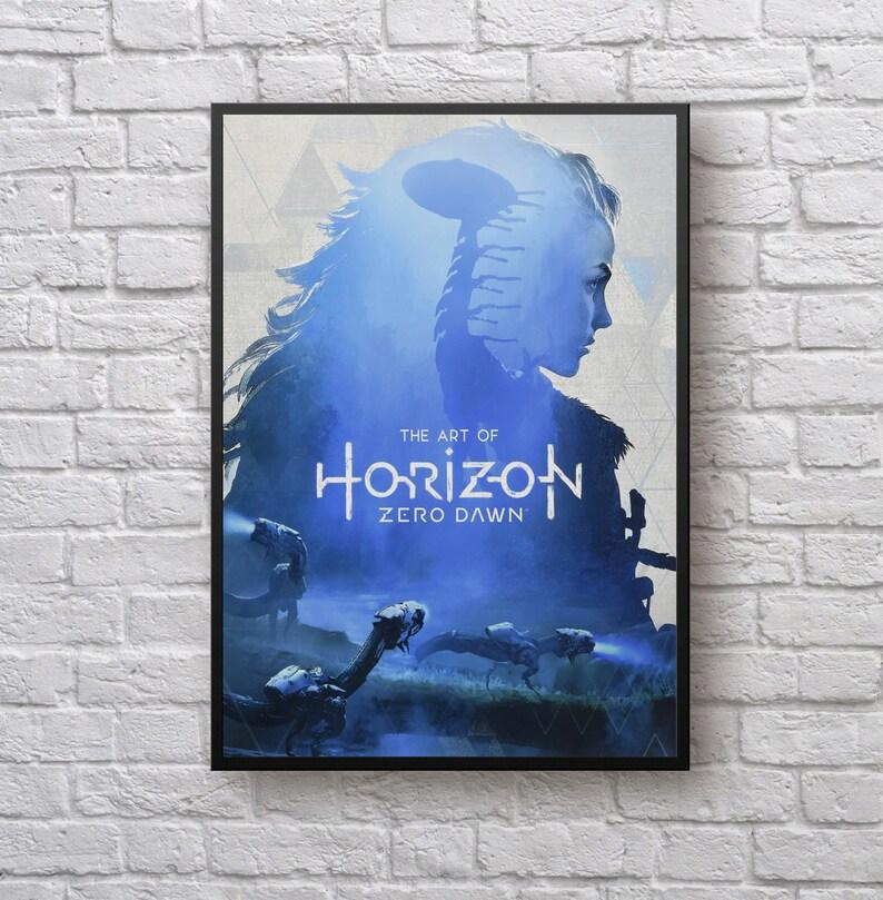 A4 A3 A2 A1 A0| Horizon Zero Dawn PS4 Game Poster Print T542