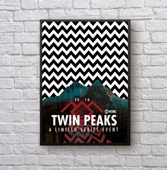 G293 Twin Peaks  TV Shows Classic Art Poster
