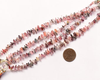 Genuine Spinel Beads 8 Inches MULTI SPINEL SMOOTH Tumble Uneven Shape Natural Gemstone Plane Center Drill Beads Line Rare Gemstone Beads