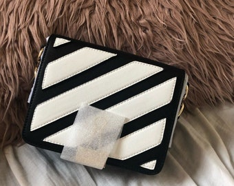 b7a68cc7f The OFF WHITE inspired crossover strap bag