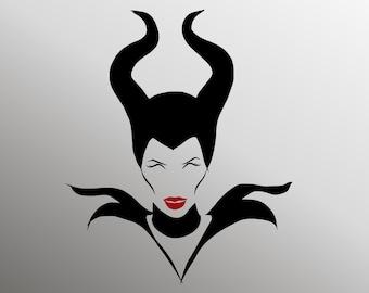 Maleficent Svg Evil Queen Svg Disney Svg Disney Villain Etsy