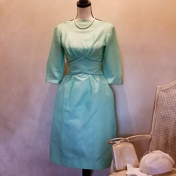 Vintage 1950 Emma Domb Dinner Dress