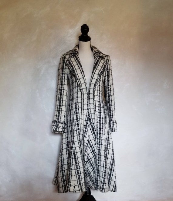 Coat/Vintage Coat/Womens Coat/1980's Coat/Fit Flai