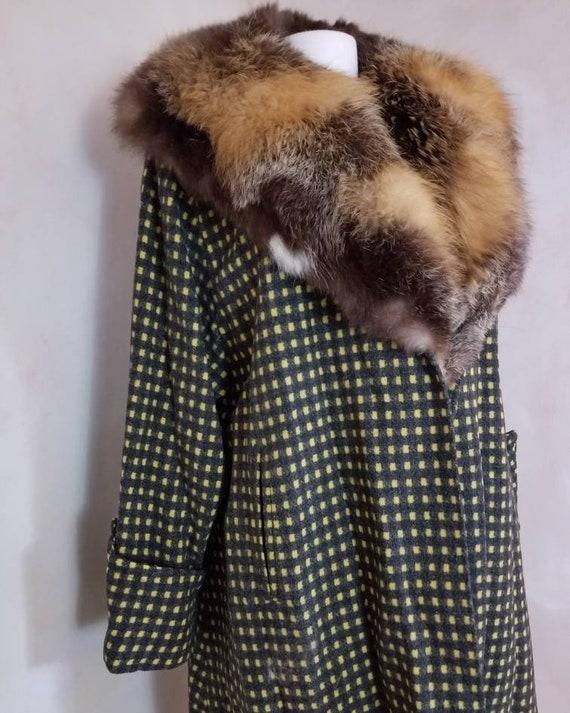 Vintage coat/1940's Coat/Swing Coat/Fapper Coat/Wo