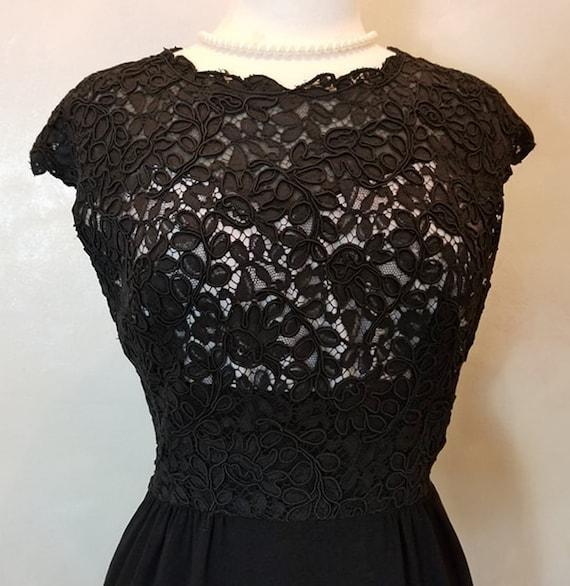 Vintage Dress/1960's Dress/Vintage Cocktail Dress/