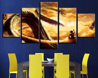 Dragon Ball Z Wall Art Etsy