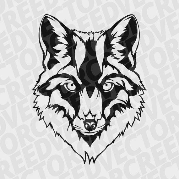Fox Svg Fox Head Svg Fox Dxf Forest Animal Svg Fox Tatoo Etsy