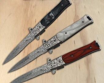 Stiletto knife | Etsy