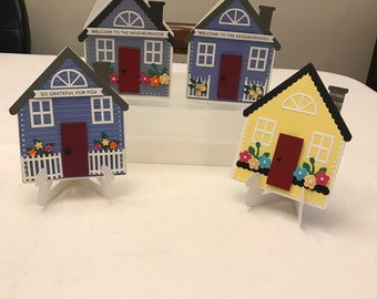 House Shaped Card Etsy