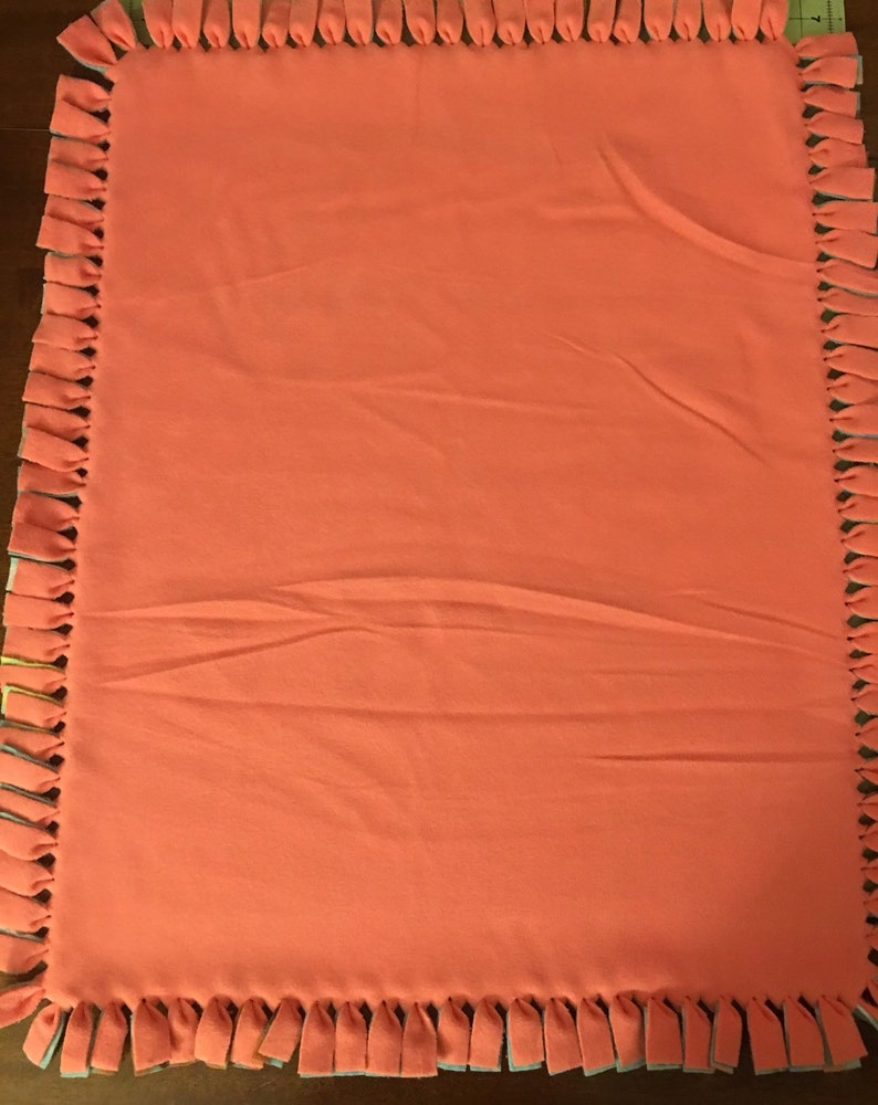 Disney Moana Happy Day with Sugar Coral Backing Baby Tie Blanket