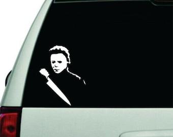 "6/"" EXORCIST Vinyl Decal Sticker Car Window Laptop Horror Scary Halloween Creepy"