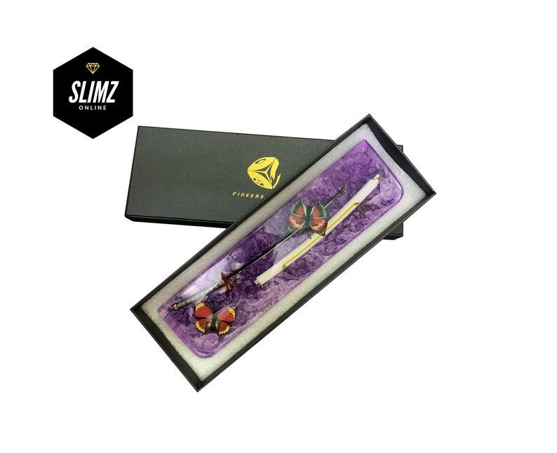 Gift for boy Handmade Wrist Rest Gift for him Artisan Katana Sword Wrist Rest Resin Black Red Custom Wrist Rest