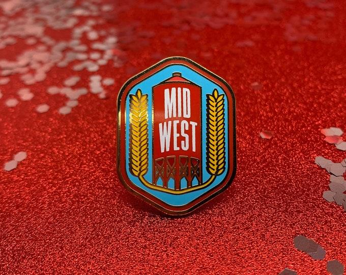 Midwest Proud Hard Enamel Pin
