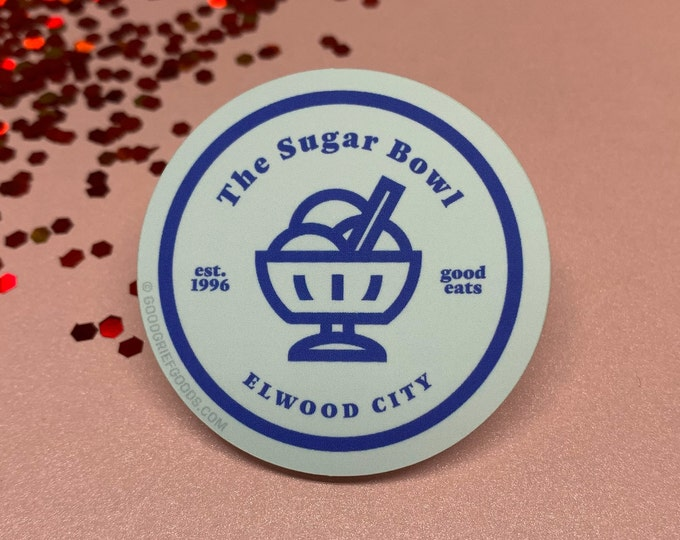 """Arthur PBS """"The Sugar Bowl"""" Matte Finish Vinyl Die Cut Sticker"""