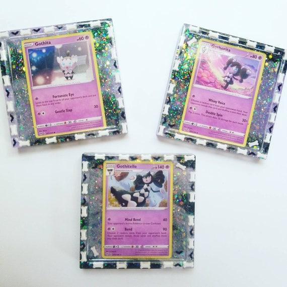 Gothita Gothorita Gothitelle Kawaii Resin Trinket Tray Coaster Slight B-grade