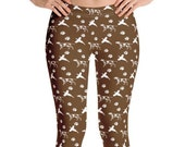 Pointer hunting dog Leggings - hunting dog gift for her - dog mom