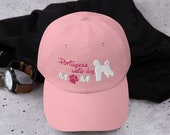 Portugese water dog baseball hat