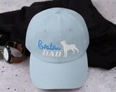 Boston terrier lover Dad hat