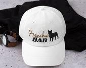 French Bulldog Hat Dad hat