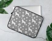 Siberian husky Laptop Sleeve - husky dad and husky mom gift
