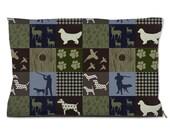 Hunting Dog Beds, Vizsla, Pointer, Basset Hound, Beagle, Retriever Hunter Gift, Vizsla, Bloodhound
