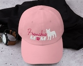 French bulldog mom baseball hat