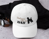 Portugese water dog Baseball Dad hat