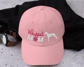 Whippet mom baseball hat