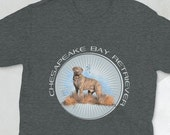 Chesapeake bay retriever Short-Sleeve Unisex T-Shirt, Super gift for chessie mom and chessie dad