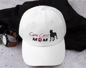 Cane Corso mom baseball  hat