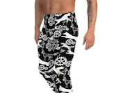 Belgian malinois Men's Leggings, dog gym pants, fitness dog gift