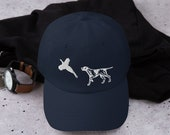 Hunting dog Baseball Dad hat- fathers day gift - hunter daddy or hunter mommy gift
