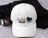 English bulldog Dad hat,English Bullhat