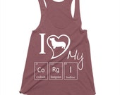 Corgi Tank Tops, Lovely Gift For Corgi Lovers