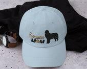 Bernese mountain dog baseball mom hat