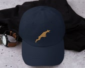 Working doberman dad hat, baseball cap