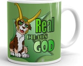 Australian shepherd cartoon style mug, aussie red tricolor coffee mug,  dog style tea mug