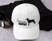 Beauceron mom Baseball hat,  working dog Dad hat